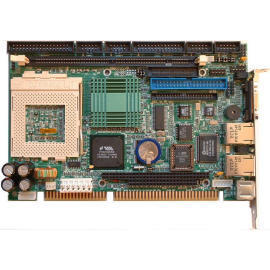 Socket370 Half-Size ISA CPU card with Audio and Dual LAN and LCD support. (Socket370 половинного размера ISA процессор карты с аудио-и Dual LAN-и ЖК-поддержки.)