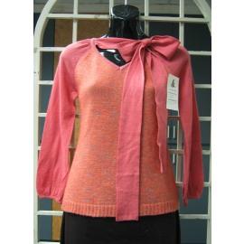 Ladies` Long sleeve 7G+12G Knitting Sweater (Женские с длинным рукавом 7G 12 G вязание свитера)
