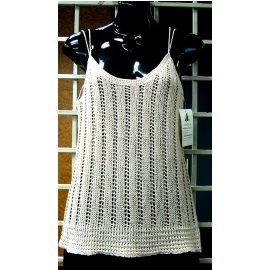 Ladies` Sleeveless 3G Knitting Sweater