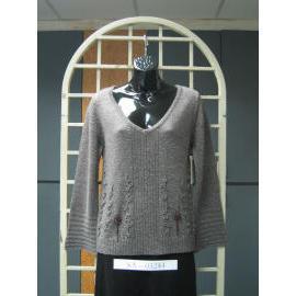 Ladies` Long Sleeve 7G Knitting Pullover Sweater (Женские с длинным рукавом 7G Вязание Пуловер Свитера)