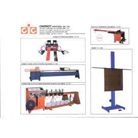Machinery for venetian, roller, vertical (Машины для венецианского, роликовые, вертикальные)