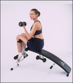 PRO-GO fitness equipment and sports sit up bench