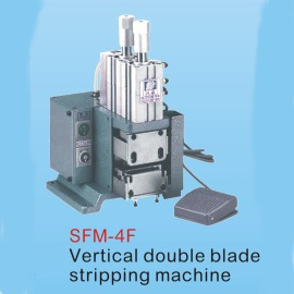 STRIPPING MACHINE, WIRE STRIPPING MACHINE,VERTICAL DOUBLE BLADE STRIPPING MACHIN