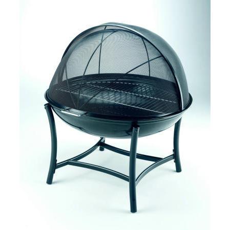 Globe Outdoor Fireplace with Half Cooking Grill (Глобус Открытый камин с половинной приготовления гриля)
