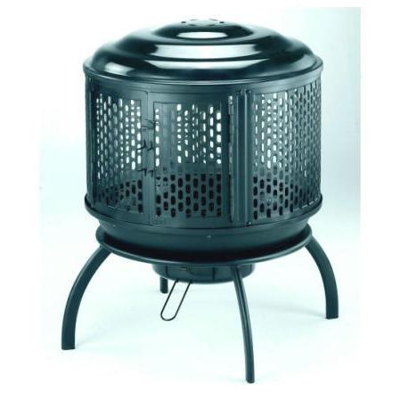 Round Outdoor Fireplace (*Patent*) (Круглые Открытый камин (* Патентное *))