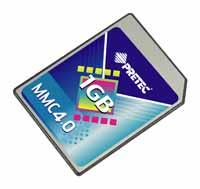 MMC4.0 Memory Card (MMC4.0 карт памяти)