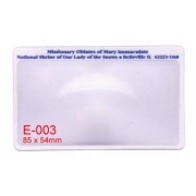 Name card size magnifier, Fresnel Lense (Название карточки размером лупы, Френеля Лензе)