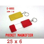 Carrying acrylic magnifier, (Carrying Acryl-Lupe,)