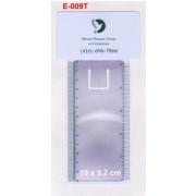 Bookmark magnifier, Fresnel Lense (Закладка лупа, Френеля Лензе)