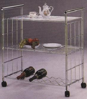 WIRE KITCHEN TROLLY CHROME (WIRE КУХНЯ Trolly ХРОМ)