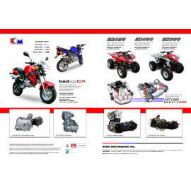 Engines, Mopeds, Motorbikes, Scooters, Stand-On Scooters, ATVs, Fun Karts