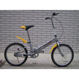 16``/20`` Folding Bike, Suspension