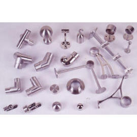 Handrail connectors & parts