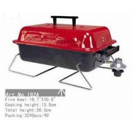 BBQ gas grill, 16.7`` x 10.8``