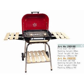 BBQ grill, 18`` x 18`` or 22`` x 22``