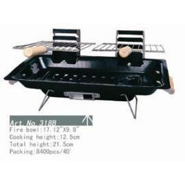 BBQ grill, 17.12`` x 9.8`` (Гриль-барбекю, 17,12 х 9,8````)