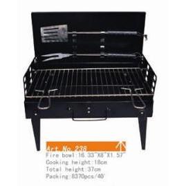 portable BBQ grill, 16.33`` x 8`` x 1.57`` (Портативный гриль-барбекю, 16.33``х 8 х 1,57````)