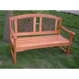 Garden bench, wooden (Садовая скамья, деревянный)