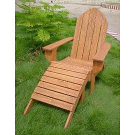 Garden chair, wooden (Сад стула, деревянный)
