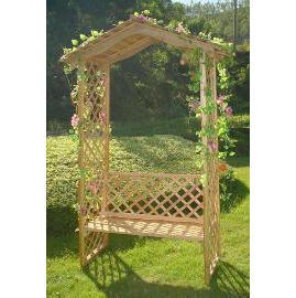 Garden furniture, wooden (Садовая мебель, деревянная)