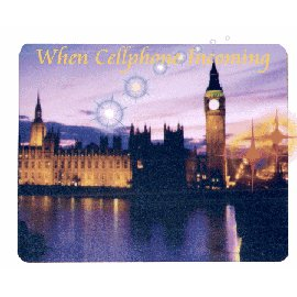 Cellphone Calling Flashing Mouse Pad (Handy Flashing Calling Mouse Pad)