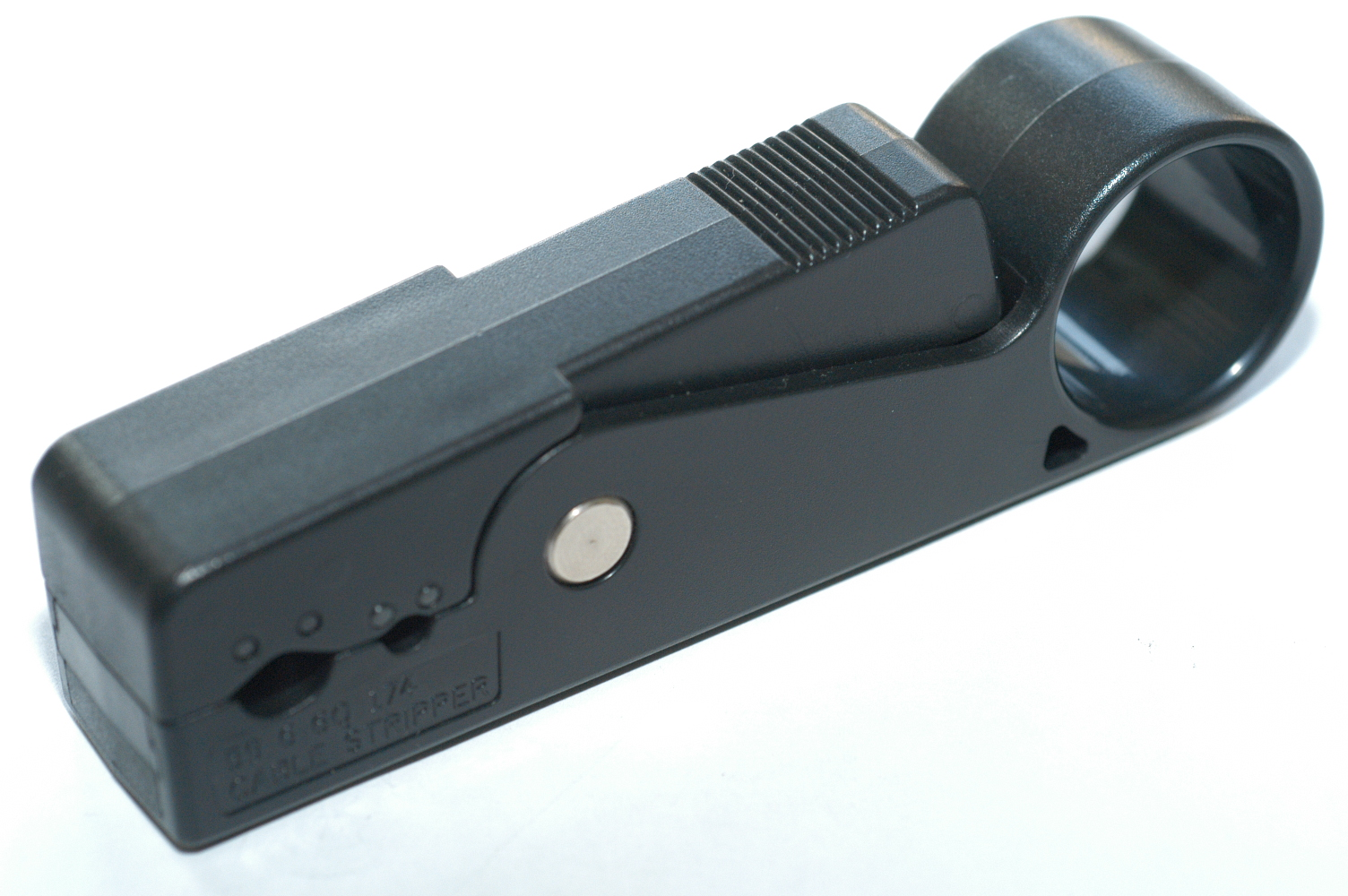 Coaxial cable stripper (Koaxialkabel Stripper)