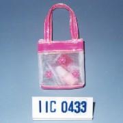 Cosmetic gift set in mesh bag (Косметический набор в подарок сумку сетка)