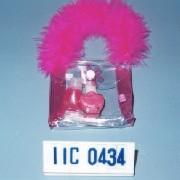 Cosmetic gift set in PVC bag w/handle & fur. (Косметический набор в подарок сумку з ПВХ / ручка & мех.)