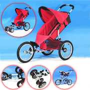 Alloy Baby Strollers with Adjustable Bottom Tube
