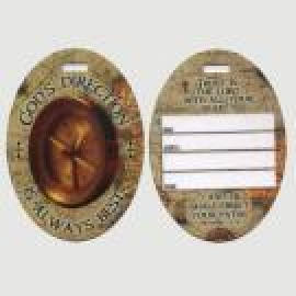 OVAL TYPE LUGGAGE TAG