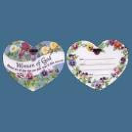 HEART TYPE LUGGAGE TAG