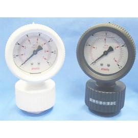 2-1/2    PVDF Diaphragm Pressure Gauges (2-1/2 ¡¨ PVDF-Membran-Manometer)