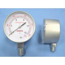Stainless Case Micro Pressure Gauge (Корпус из нержавеющей Микро Манометр)