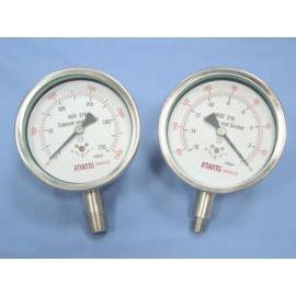 Stainless Steel Micro Pressure Gauge (Нержавеющая сталь Микро Манометр)