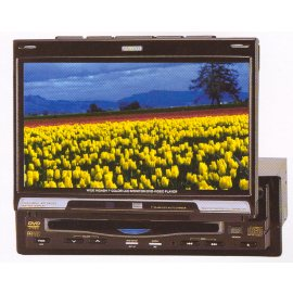 IN-DASH CAR TFT LCD MONITOR WITH BUILT-IN DVD PLAYER