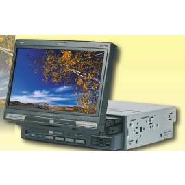 Motorized in-dash car TFT LCD monitor (Моторизованный в тире автомобиля TFT LCD монитор)