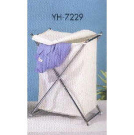 BATHROOM WIRE PRODUCTS FOLDING HAMPER (ВАННАЯ Wire Products складывающиеся ПРЕПЯТСТВУЮЩИЕ)