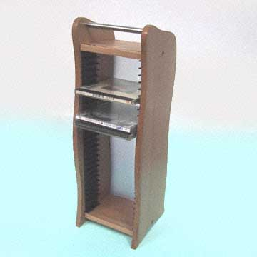 WOODEN CD RACKS (HOLZ CD-Regalen)