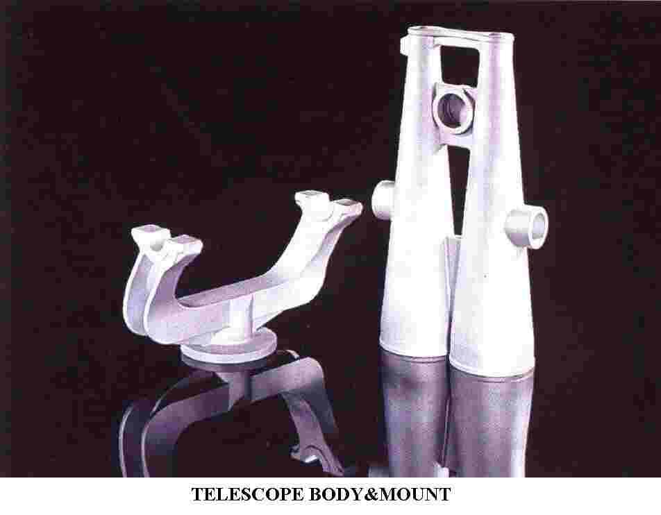 Telescope Body &Mount (Телескоп органа & горе)