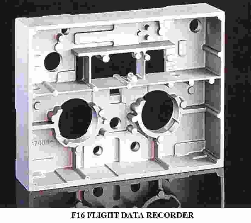 F16 Flight Data Recorder (F16 полетных данных Recorder)