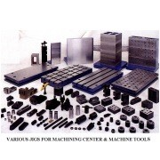 Various Jigs for Machining Center and Machine Tools (Различные Jigs для обрабатывающих центров и станков)