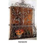 Window with Iron Gratings (Окна с железными решетками)