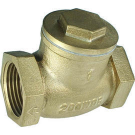 Cast Brass Swing Check Valve (Cast Brass Clapet)