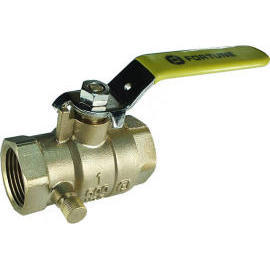 Forged Brass Ball Valve With Drainage (Forged Messingkugelhahn mit Drainage)