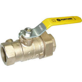 Bronze Union Ball Valve With Drainage