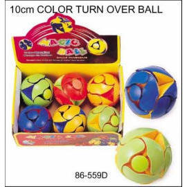 10cm COLOR TURN OVER BALL (10см COLOR Turn Over BALL)