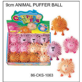 9cm ANIMAL PUFFER BALL (9cm ANIMAL PUFFER BALL)