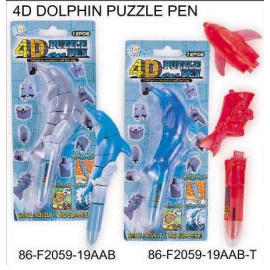 4D PUZZLE DOLPHIN PEN (4D PUZZLE DOLPHIN PEN)
