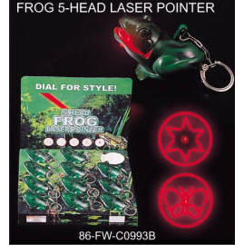 FROG 5-HEAD LASER POINTER (FROG-5 HEAD LASER POINTER)