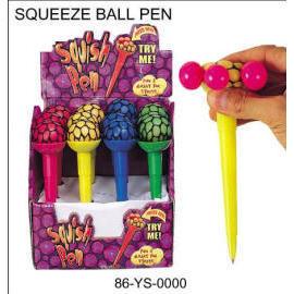 SQUEEZE BALL PEN (СКВИЗ Шариковая ручка)